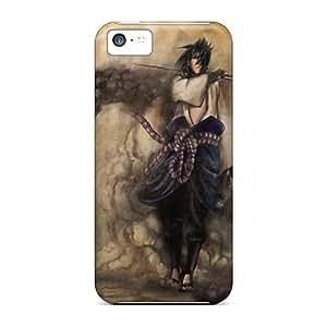 CharlesPoirier Iphone 5c Bumper Cell-phone Hard Cover Customized Lifelike Uchiha Sasuke Naruto Shippuden Skin [XkB6198PwHK]