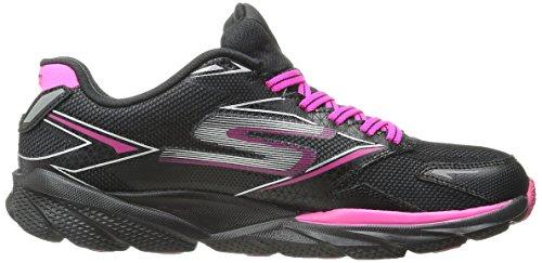 Y Negro Skechers Deporte GO 4 Rosa Mujer Zapatillas para de Ride nqHzqxw8Ur