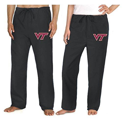 Virginia Tech Hokies Scrub Pants Scrubs Drawstring Bottoms For Men or Ladies! (Tech Scrub Pajama Pants)