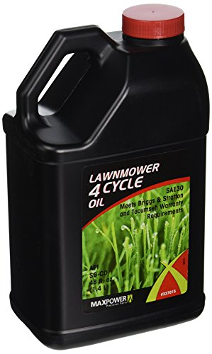 Push Mower Oil - Maxpower 337015 48-Ounce 4 Cycle Lawn Mower Oil