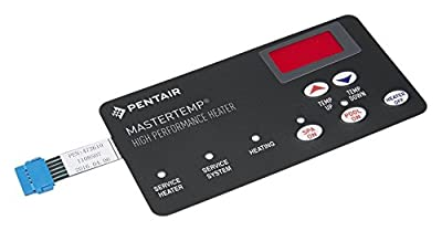 Pentair 472610Z Switch Membrane Pad Replacement MasterTemp Pool and Spa Heater Electrical System