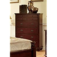 247SHOPATHOME Idf-7083C Drawers, chest, Cherry
