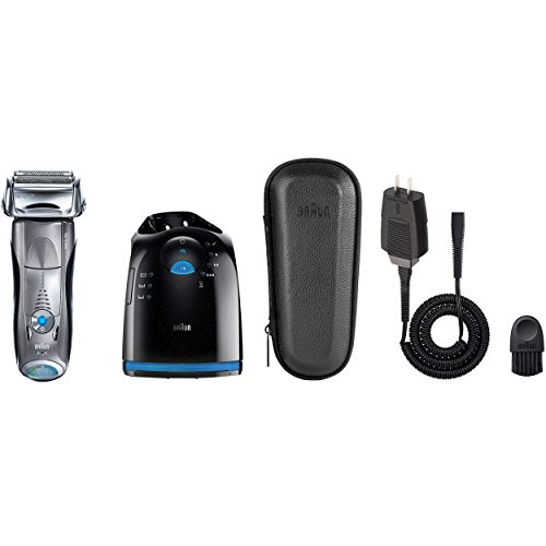 Braun Series 7 790cc Men's Electric Foil Shaver / Electric Razor, with Clean & Charge Station, Cordless by Braun (Image #8)
