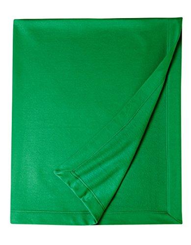 Gildan Dryblend Fleece Stadium Blanket (Irish Green) (O/S) - Jeep Blanket