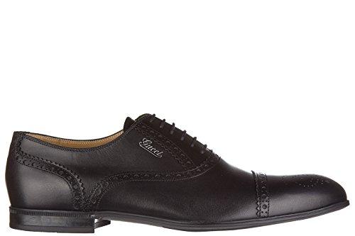 Gucci scarpe stringate classcihe men's in leather nuove cira