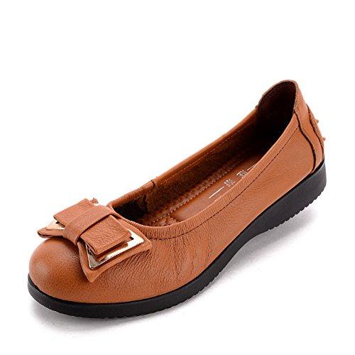 Año luz zapatos/Mujeres zapatos planos/Mitad inferior suave y zapatos de las mujeres de edad/Zapatos de mamá B