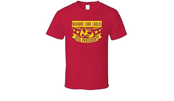 Navarro Juan Carlos para Presidente España baloncesto T Shirt ...