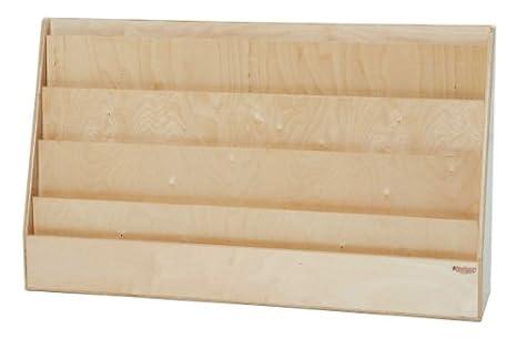 Amazon Wood Designs WD40 XWide Book Display Stand 40 X 40 Beauteous Wooden Book Display Stand