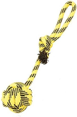 Duvo+ Scooby - Cuerda para Perro con Bola Amarilla para Limpieza ...