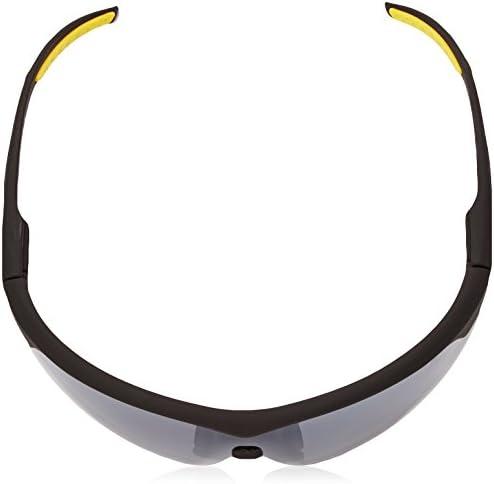 Ironman Men's Tenacity Wrap Sunglasses, Matte Black Rubberized, 136 mm