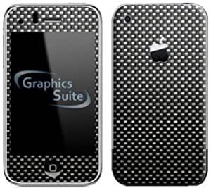 Carbon Fibre Pattern Skin for Apple iPhone 3G or 3G S