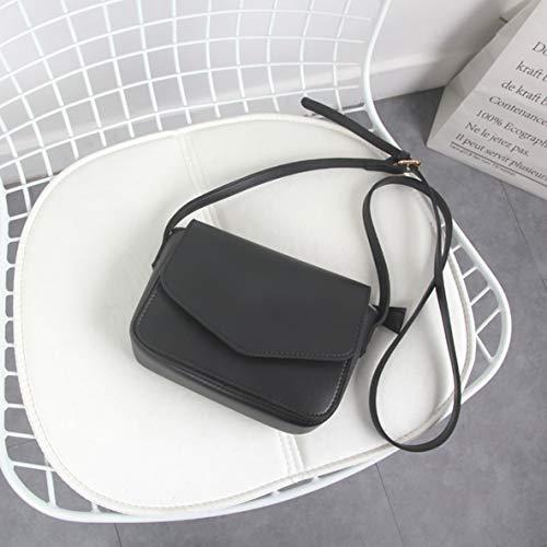 sac bandoulière couleur PU coréenne solide sac all petit style sac femmes messager Version mode carré à match simple PCFqwETx