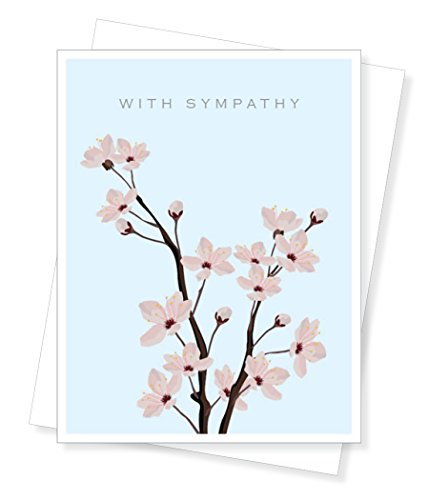 Cherry Blossoms, Sympathy Greeting Card