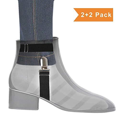 Boncas Improved Adjustable Elastic Boot Clips