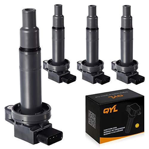 Toyota Scion Xb - 4Pcs Ignition Coil Pack Replacement for Scion XA XB Yaris Toyota Echo Prius Camry C1304 UF316 5C1293