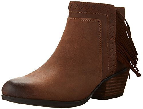 CLARKS Gelata Flora Casual Booties Brown 6.5 M discount wholesale price store with big discount 872aa2H