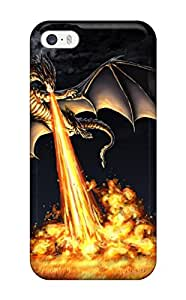 Pauline F. Martinez's Shop Sanp On Case Cover Protector For Iphone 5/5s (blasting Fire)