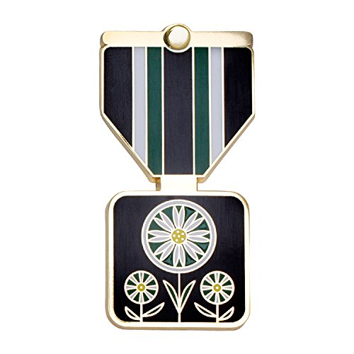 Merit Medals Aster Greeting Card & - Cloisonne Floral Collection