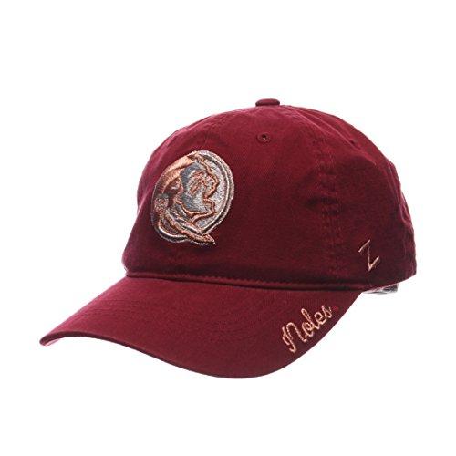 Zephyr NCAA Florida State Seminoles Women's Versailles Cap, Cardinal, Adjustable