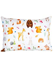 """100% Organic Toddler Pillowcase - Fits Both 13""""x18"""" and 14""""x19"""" Pillows - Soft, Durable & Breathable"""