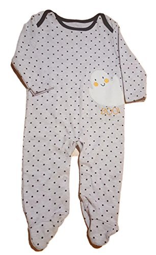 Rene Rofe Baby Unisex Ghost Halloween Sleeper, 6-9 Months, -
