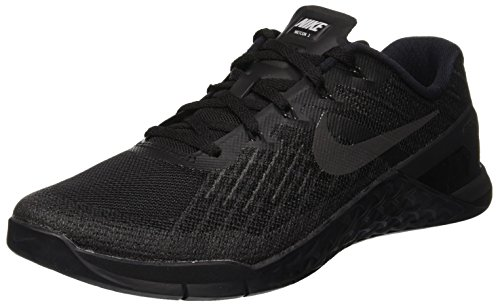 Nike Metcon 3 Mens Trainers 852928 Sneakers Shoes (UK 8.5 US 9.5 EU 43, Black Black 002)