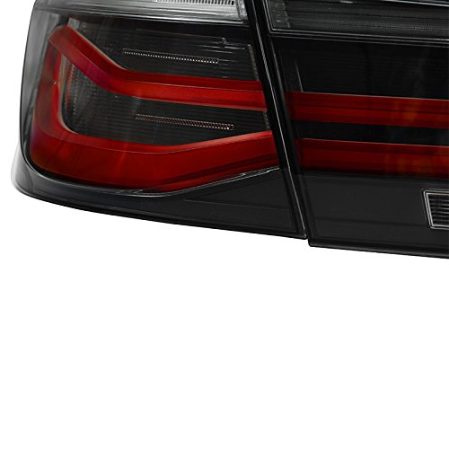 For 12 17 Bmw 3 Series F30 Lci Black Line Rear Tail Light Lamps