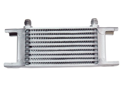 Aluminum Oil Cooler 6.5' Core 10 Row AN6 Fitting CXRacing