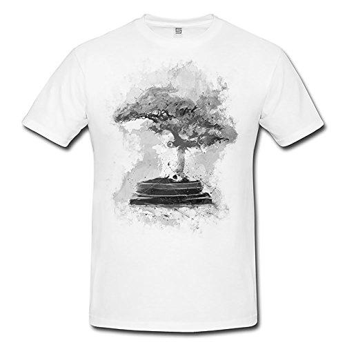 Bonsai T-Shirt Herren, Men mit stylischen Motiv von Paul Sinus