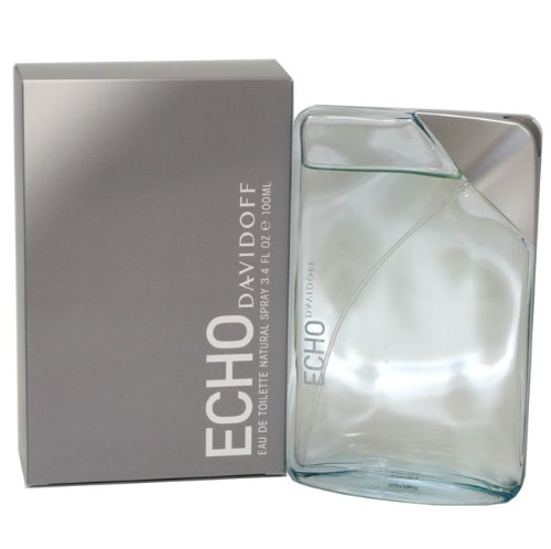 Echo By Davidoff For Men. Eau De Toilette Spray 3.4 Ounces