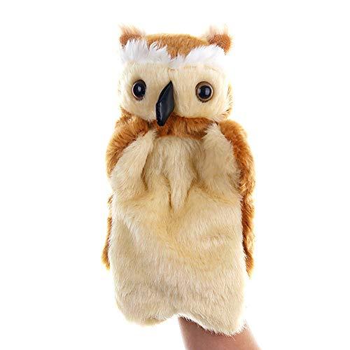 (Flurries Cute Cartoon Animal Doll Kids Glove Hand Puppet Soft Plush Toys Story Telling)