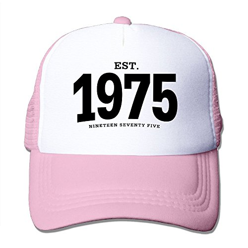 NONGFU EST. 1975 Nineteen Seventy Five Big Foam Trucker Baseball Cap Mesh Back Adjustable (1975 Hat)