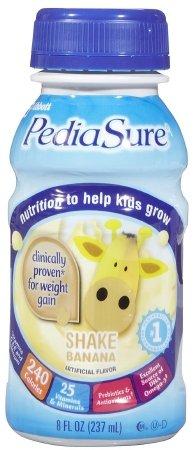 PediaSure Banana Cream, 8 oz. Bottle 58052 Qty 1