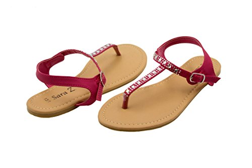 918ed150acca Sara Slingback Sandals Rhinestones Colors. Review - Sara Z Girls Flat ...