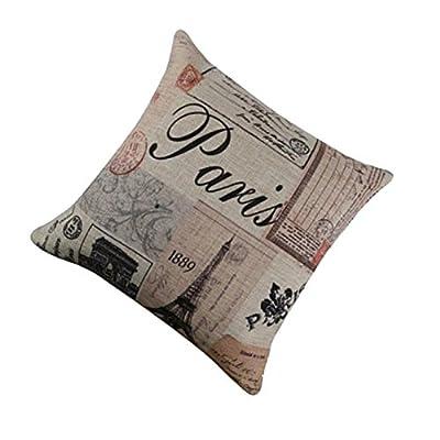 FairyTeller Decorative Pillow Case Sofa Waist Throw Cushion Cover Home Decor Quality First
