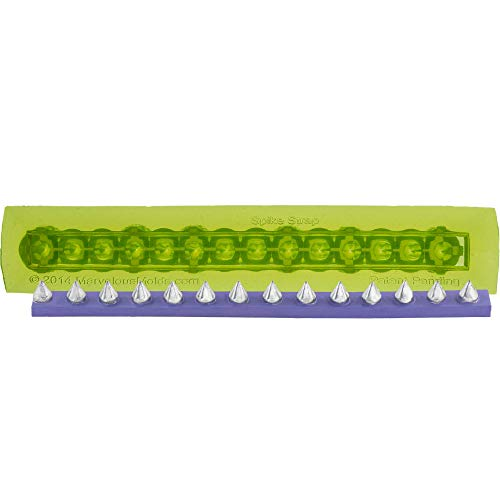 Marvelous Molds Spike Strap Silicone Mold for Cake Decorating with Fondant   Gum Paste Rolled Icing (Spike Paste)