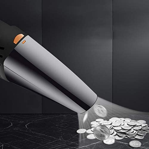 SACYSAC Aspirateur de Voiture, de Charge sans Fil Haute Puissance Puissant aspirateur à Main, à Double Usage Portable Aspirateur,B