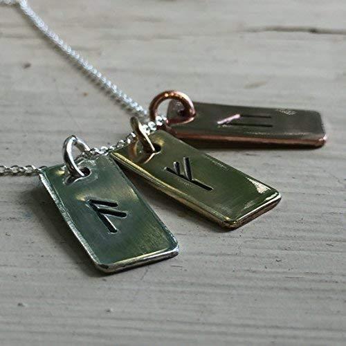 982993dca6f0d Rune Amulet - Rune Jewelry Silver - Rune Charms - Viking Jewelry Women