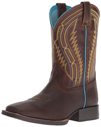 - Kids' Baby Chute Boss Western Boot, Distressed Brown, 10 M US Toddler