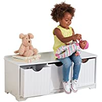 KidKraft Nantucket Storage Bench - White