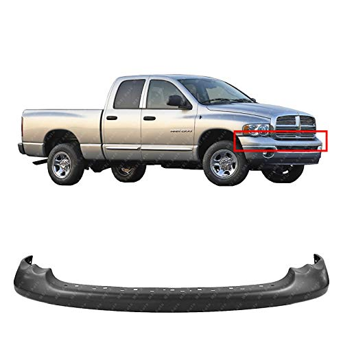 (MBI AUTO - Primered, Front Bumper Upper Cover for 2002 Dodge Ram 1500 & 2003-2005 Ram 1500 2500 3500 Pickup 03 04 05, CH1000338)