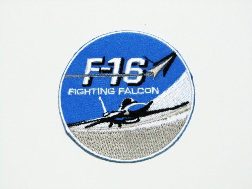 F-16 fighting falcon iron on patch for Clothing,Jacket,Shirt,Cap, used for sale  Delivered anywhere in USA