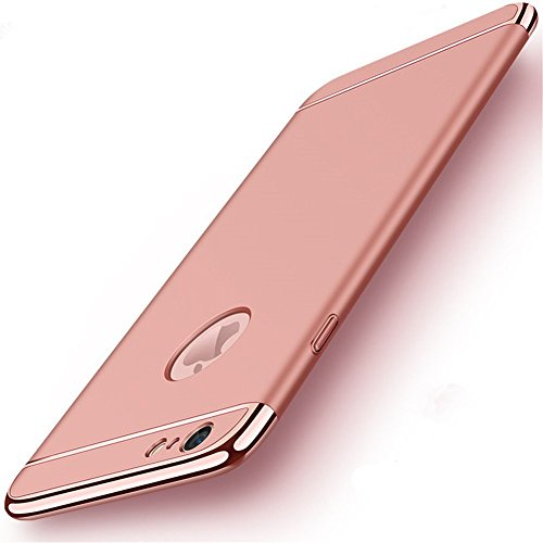 Biter iPhone 6/6S Slim Case Anti-Scratch 360 Degree Protection 3 In 1 Hard Mobile Phone Ultra With Electroplate Frame For Full Protective For iPhone 6S Plus 6 Plus (iPhone 6/6S ()