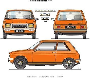 Volvo Plaque en t/ôle