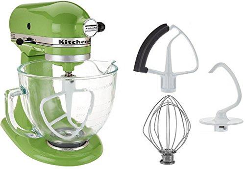 kitchen aid 5 quart mixer green - 6