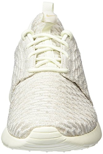 Nike Damen Roshe One Flyknit Sneakers Grau (Sail/White-String)