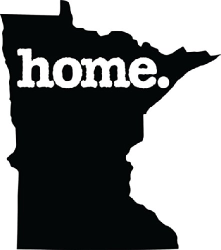 Home Minnesota State Design Vinyl Car Sticker Symbol