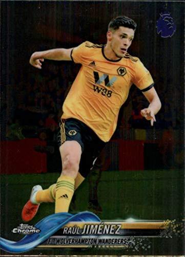 337e1943ddb Amazon.com  2018-19 Topps Chrome Premier League  52 Raul Jimenez NM-MT  Wolverhampton Wanderers Official Soccer Trading Card  Collectibles   Fine  Art