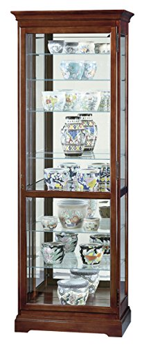 Howard Miller 680-286 Chesterfield Curio (Home Chesterfield Floor Cabinet)