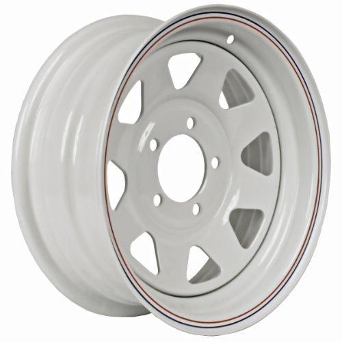 Martin Wheel 5-Hole Steel Custom Spoke Trailer Wheel (15x6/5x4.5) by Martin Wheel